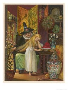 The Witch Combs Gerda's Hair by Eleanor Vere Boyle