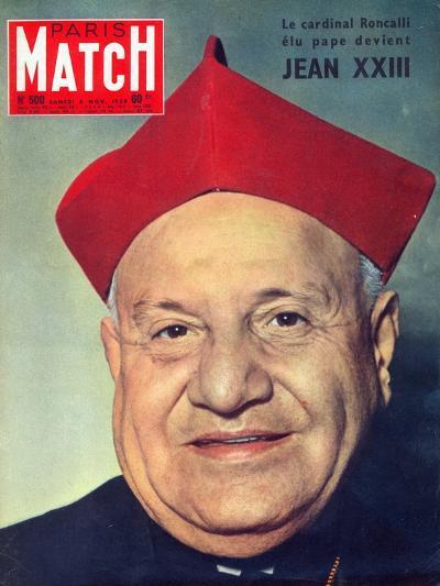 Election of Cardinal Roncalli as Pope John XXIII, 1958--Photographic Print