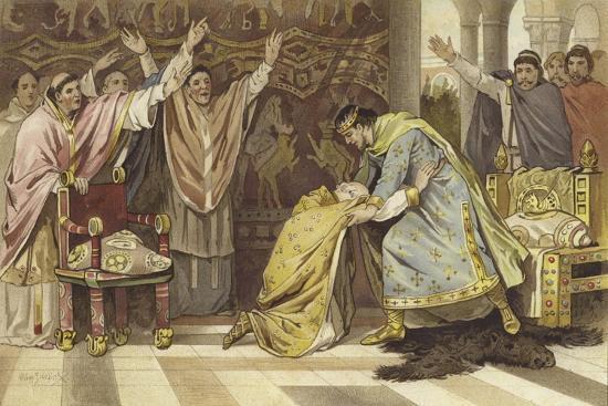 Election of Frederick I as Bishop of Utrecht, 817-Willem II Steelink-Giclee Print