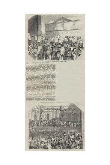 Election of Lord Mayor--Giclee Print