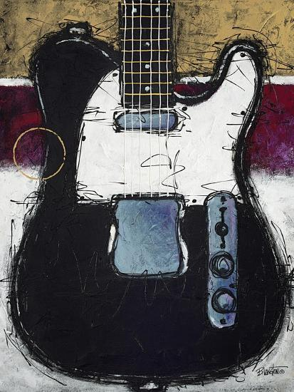 Electric Black-Bruce Langton-Art Print
