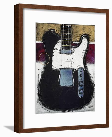 Electric Black-Bruce Langton-Framed Art Print