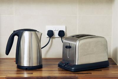 Electric Kettle And Toaster-Johnny Greig-Photographic Print