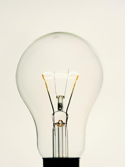 Electric Light Bulb-Lawrence Lawry-Photographic Print