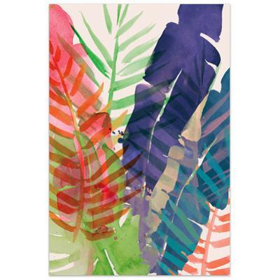 Electric Palms 1 - Free Floating Tempered Glass Wall Art