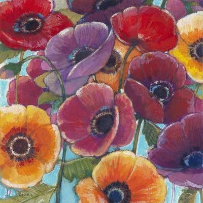 Electric Poppies 1-Norman Wyatt Jr^-Art Print