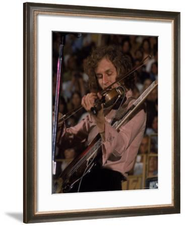 """Electric Violinist Rick Grech from the Group """"Blind Faith.""""-John Olson-Framed Premium Photographic Print"""