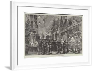 Electrical Exhibition at the Crystal Palace--Framed Giclee Print