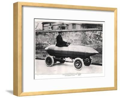 Electrical Racing Car Jenatzy La Jamais Contente, c.1900