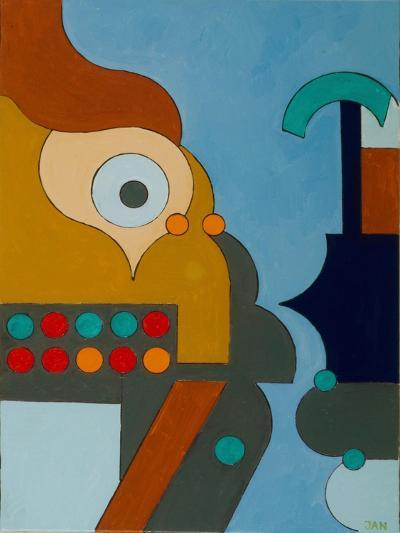 Electricity, 2009-Jan Groneberg-Giclee Print