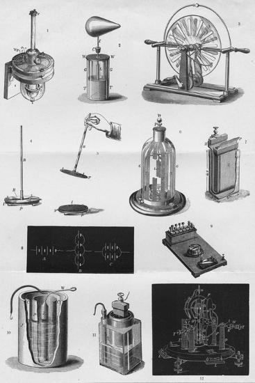 'Electricity', c1891-Unknown-Giclee Print