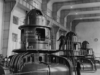 Electricity Plant--Photographic Print