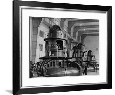 Electricity Plant--Framed Photographic Print