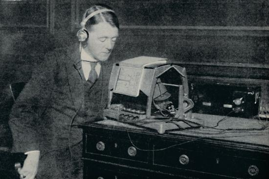 'Electricity Transforms the Printed World into Sound for the Blind', c1935-Unknown-Photographic Print