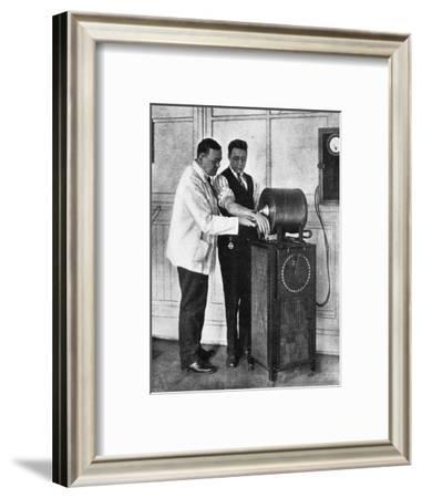 Electro-Magnetic Surgery--Framed Giclee Print