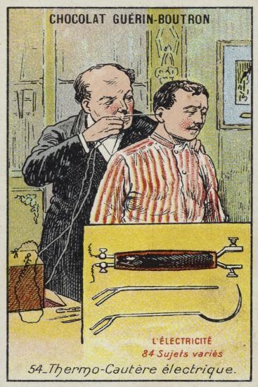 Electrocauter--Giclee Print