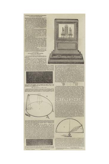 Electrographic Instruments and the Rotation of the Earth--Giclee Print