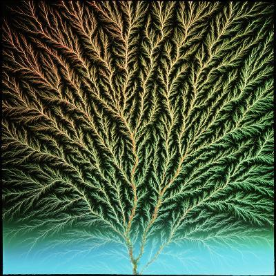 Electron Tree In a Block of Plastic-Steve Horrell-Photographic Print