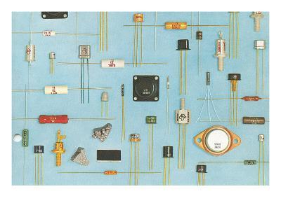 Electronic Components--Art Print