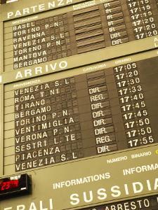 Electronic Italian Train Schedule