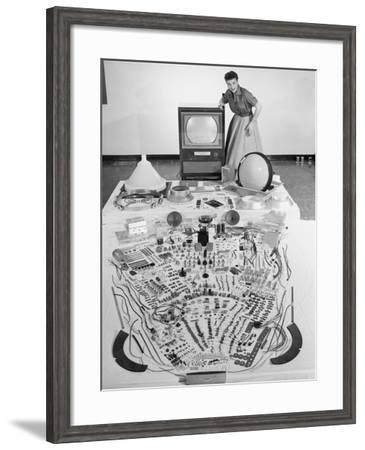 Electronics--Framed Photo