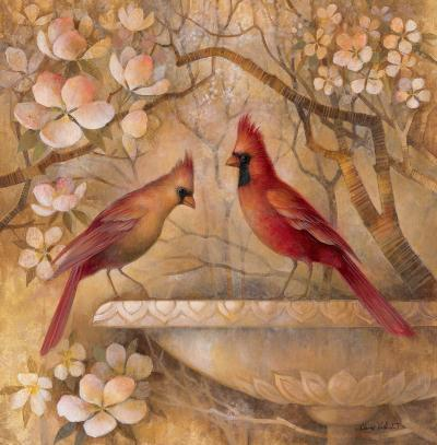 Elegance in Red II-Elaine Vollherbst-Lane-Art Print