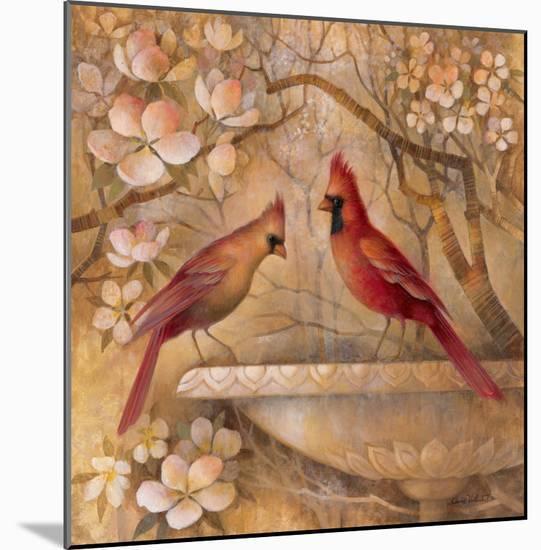 Elegance in Red II-Elaine Vollherbst-Lane-Mounted Print
