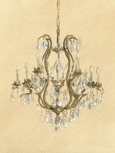 Elegant Chandelier II- Laurencon-Art Print