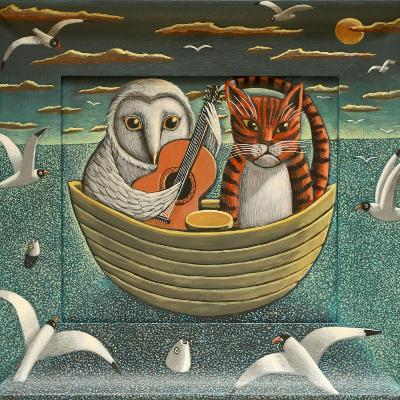 Elegant Fowl, 2015-PJ Crook-Giclee Print