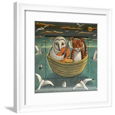 Elegant Fowl, 2015-PJ Crook-Framed Giclee Print