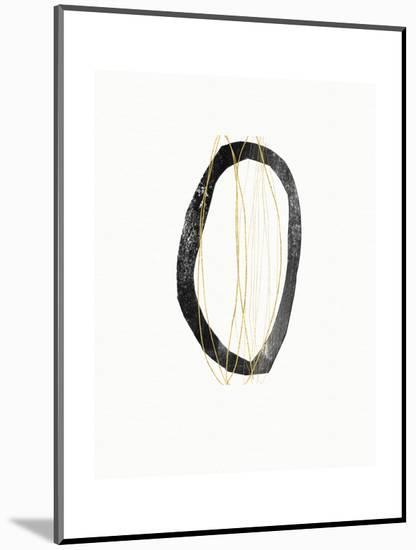 Elegant Modern Abstract IV-Linda Woods-Mounted Art Print