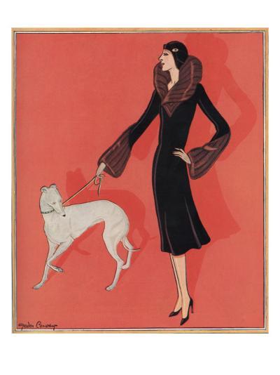Elegant Outdoor Fashion by Gordon Conway--Giclee Print