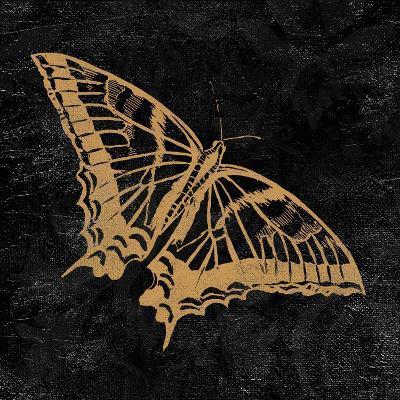 Elegant Paris Gold V-Linda Baliko-Art Print