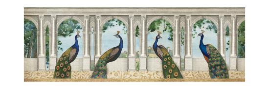 Elegant Peacock I-Wild Apple Portfolio-Art Print
