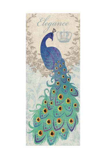 Elegant Peacock-Piper Ballantyne-Art Print