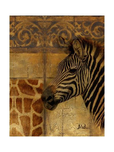 Elegant Safari I (Zebra)-Patricia Pinto-Premium Giclee Print