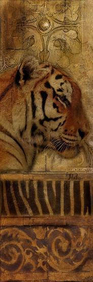 Elegant Safari Panel II (Tiger)-Patricia Pinto-Premium Giclee Print