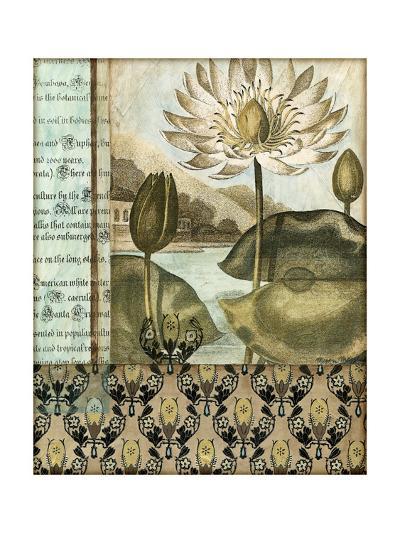 Elegant Water Lily I-Megan Meagher-Art Print