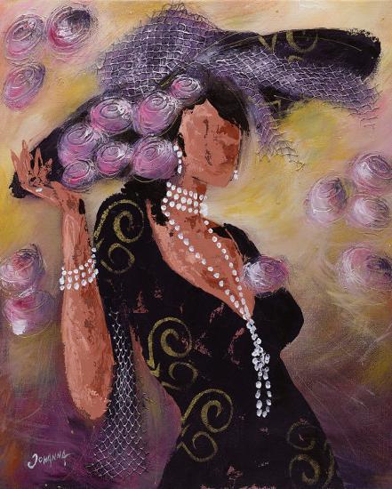 Elégantes aux Perles II-Johanna-Art Print