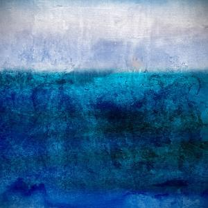 Abstract Background with Blue and White Color by elegeyda