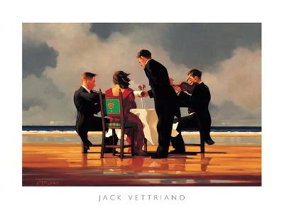 Elegy for a Dead Admiral-Jack Vettriano-Art Print