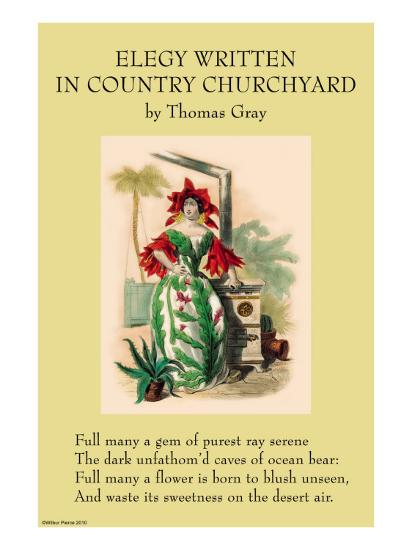 Elegy Written In a Country Churchyard--Art Print