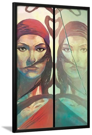Elektra #1 Featuring Electra-Mike Del Mundo-Lamina Framed Poster