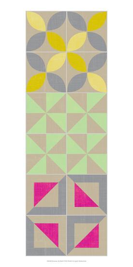 Elementary Tile Panel I-Chariklia Zarris-Art Print