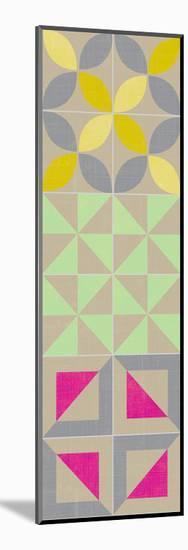 Elementary Tile Panel I-Chariklia Zarris-Mounted Art Print