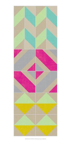 Elementary Tile Panel II-Chariklia Zarris-Art Print