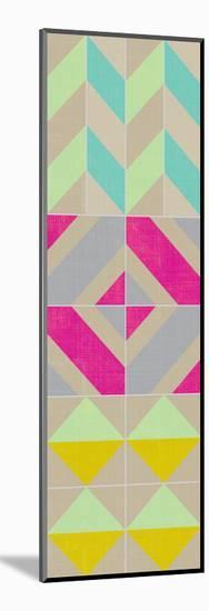 Elementary Tile Panel II-Chariklia Zarris-Mounted Art Print