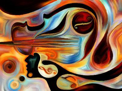 Elements of Music-agsandrew-Art Print