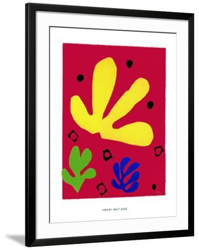 Elements Vegetaux, c.1947-Henri Matisse-Framed Art Print