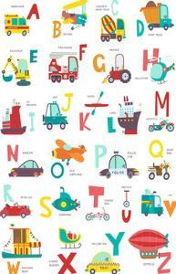 Cars And Letters by Elena David